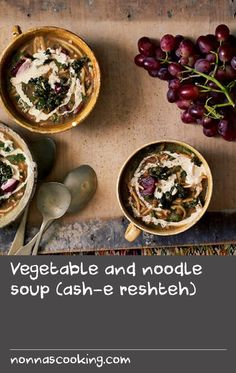 Vegetable and noodle soup (ash-e reshteh) Brown Lentils, Hearty Meal, Kidney Beans, Beef Broth, Meal Recipes, Noodle Soup, Beetroot, Beets, Vegetable Recipes