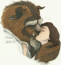 Belle and her beast - Beauty and the Beast