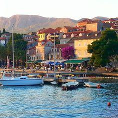 On the water in Cavtat, Croatia. Photo courtesy of nieq_shibayama on Instagram.
