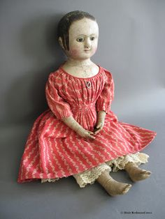 Izannah Walker Chronicles: Meet Mary from Dartmouth - Izannah Walker Doll Pictures