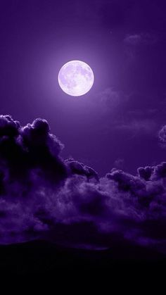Full moon in a beautiful sky.