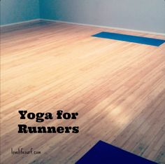 Yoga for Runners — this one is REALLY good and two birds, one stone (stretching pre or post run).