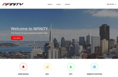 NFINITY Web Solutions - NFINITY Web Solutions was founded in 2001, based out of Salt Lake City, Utah as a web design company to organizations ranging from non-profits to smallmedium sized businesses. Throughout our history, we have grown consistently each year, expanding our service offerings and diversifying our client base, while growing an intelligent and creative force in our … http://www.findwa.com/best-webagency/nfinity-web-solutions/