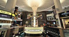 Changi Airport - duty free shopping