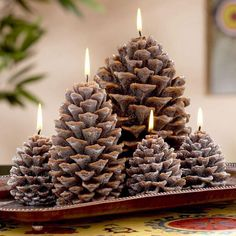 Not one Christmas holiday can get away without the magnificent pine cones. Here you are going to see some Sensational DIY Pine Cone Crafts That Are Super Affordable. I know that the Christmas decorations can Pine Cone Art, Pine Cone Crafts, Pine Cones, Pine Cone Decorations, Diwali Decorations, Christmas Decorations, Noel Christmas, Rustic Christmas, Xmas