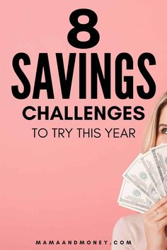 Looking for a money savings challenge? Check out these 8 easy & worthwhile savings challenges that will help you reach your savings goals this year. Saving Money Chart, Money Saving Tips, Savings Challenge, Money Saving Challenge, Ways To Save Money, Money Tips, Thing 1, Make Money Writing, Managing Your Money