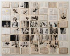 O mais recente trabalho da artista plástica russa Ekaterina Panikanova consiste em fazer composições com antigos livros abertos e em seguida pintá-los com cenas surrealistas. O resultado impressiona.