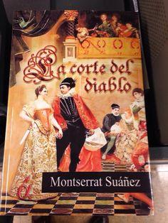 Natalia me envía foto de su ejemplar de La Corte del Diablo.