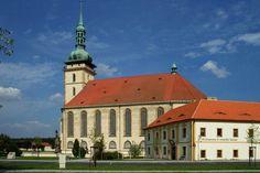Česko, Most - Gotický kostel Nanebevzetí P.Marie