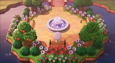 Inspiration for Animal Crossing: New Horizons island and home design layouts. Animal Crossing 3ds, Animal Crossing Villagers, Animal Crossing Qr Codes Clothes, Ac New Leaf, Motifs Animal, Island Design, Animal Games, Sketch Inspiration, Style Inspiration