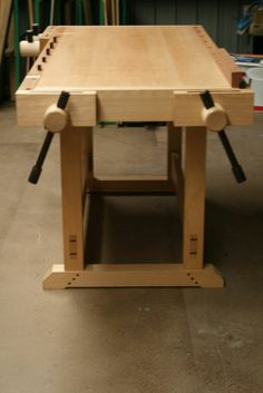2012 Workbench Of The Month - Wood Vise Screw and Wooden Vise for Leg Vise, Wagon Vise, Shoulder Vise, Twin Screw Vise, Tail Vise and Face V...