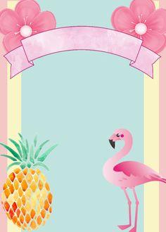 57 Ideas party invitations diy pool for 2019 Pink Flamingo Party, Flamingo Birthday, Pink Flamingos, Pool Party Birthday Invitations, Diy Invitations, Thema Hawaii, Karneval Diy, Invitation Background, Girl First Birthday