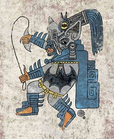 Aztec Batman Art Print Qetza Online Store Powered by Storenvy - Batman Poster - Trending Batman Poster. - Aztec Batman Art Print Qetza Online Store Powered by Storenvy Comic Book Characters, Comic Character, Comic Books Art, Comic Art, Book Art, Fan Art Batman, Im Batman, Gotham Batman, Batman Poster