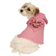 A luxury designer dog coat - Oh My Dog - this is so beautiful! Chic and stylish with unique hand-beaded detail in bright stunning colours.  Lined with ultra-plush curly fur which is so soft and cosy.  Love Love Love this!