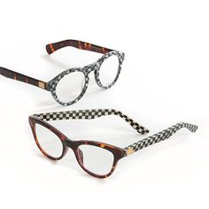 Put the focus on fashionable eyewear with MacKenzie-Childs Readers. Stash a pair of our reading glasses here, there, and everywhere. Reading Glasses, Tortoise Shell, Good Books, Eyewear, Fashion Jewelry, Pairs, Purses, Gold, Gifts
