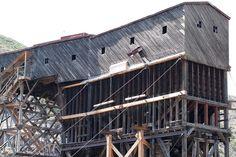 Atlas Coal Mine outside of Drumheller, Alberta.