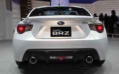 White Subaru BRZ