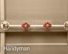 <p>For a great home improvement décor,  adapt common DIY hardware items for clever hooks and racks for your walls.  Amaze your neighbors and friends with your creativity. We show you ten  spur-or-the-moment inspirations.</p>