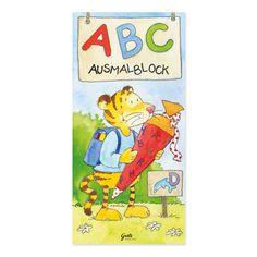 ABC-Malbuch aus dem #GrätzVerlag, illustriert von #AnnettRudolph https://www.graetz-verlag.de/abc-malbuch