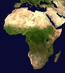 172. article about the Sahara Desert in Africa...it's as large as the United States - Wikipedia, the free encyclopedia.