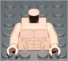 Lego Indiana Jones x1 Flesh Torso, Bare Chest Muscle Male Body Minifigure NEW