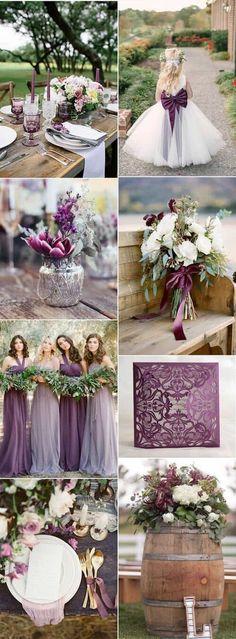 ambienta tu boda con rosa lavanda