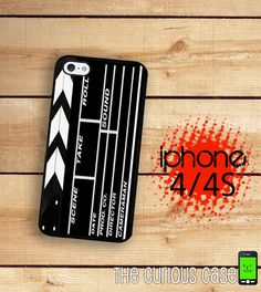 iPhone 4 Case Iphone 4S Case Hollywood di TheCuriousCaseLLC