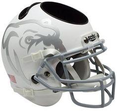 Mississippi State Bulldogs Mini Helmet Desk Caddy - Matte White