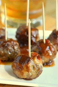 This classic retro cocktail meatball is bathed in a luscious Bourbon sauce