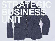 SBU stretch wool blazer.