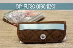 DIY Purse Organizer From A Hot Pad! | Practically Functional