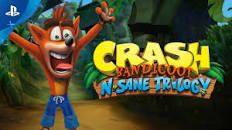 Crash Bandicoot N. Sane Trilogy is a platform video game compilation which has a collection of remasters of the first three titles in the Crash Bandicoot ser. Super Nintendo, Nintendo 64, Nintendo Switch, Playstation Consoles, Playstation Games, Game Boy, Pc Game, Crash Bandicoot Ps4, Arcade Games