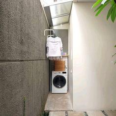 Home Room Design, Laundry Room Design, Outdoor Laundry Rooms, Loft Apartment Decorating, Small Balcony Decor, Laundry Room Remodel, Laundry Room Inspiration, Ideas Hogar, Minimalist Home Decor