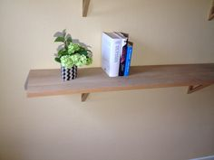 Oak hard wood shelf