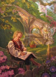 Bilbo - Raoul Vitale - Always a nice hobbit to visit. We can have tea.