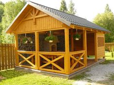 Outdoor Rooms, Outdoor Dining, One Room Houses, Cool Sheds, Front Porch Railings, Dome Structure, Balcony Flooring, Outdoor Kitchen Bars, Bamboo House