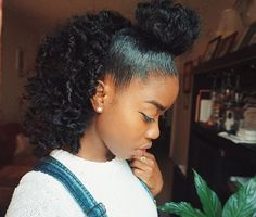 Easy Love your hair style http:twistout-with-tgin-hair-products-on-twa-natural-hair-video Cute Natural Hairstyles, Natural Hair Tips, Girl Hairstyles, Natural Hair Styles, Natural Curls, Ponytail Hairstyles, 1950s Hairstyles, Hairstyles 2018, Natural Hair Journey