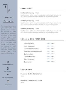 11 Resume Formats You Can Choose From Resume Format, Resume Design, Resume Templates, Highlight, Positivity, Words, Classic, Easy, Lights