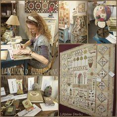 L'Atelier Perdu Blog: De Tentations & de Quilts