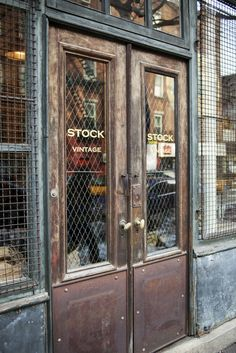 Stock Vintage | New York - really liked this place! Nicely curated!