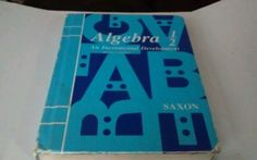 Saxon Algebra 1/2 Second Edition 1990 (Hardcover)