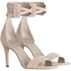 ZIMMERMANN Buckled Cuff Heel ($480) ❤ liked on Polyvore featuring shoes, sandals, heels, zimmerman, heeled sandals, high heel sandals, cuffed sandals, zimmermann and buckle sandals