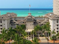 Moana Surfrider - Boasting a lush oceanfront pool and a private beach area, this resort provides everything needed for a relaxing vacation by Waikiki Beach. Popular amenities, such as a sauna, a Jacuzzi and an outdoor pool, make for an enjoyable stay in Honolulu.