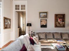 Las Palmas De Gran Canaria villa for sale € Kitchen Office, Living Room Kitchen, Patio Interior, Large Bathrooms, Large Bedroom, Find Property, Sofa Bed, Living Area, Villa