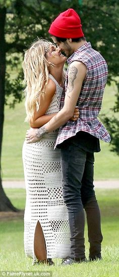 Happier than ever: Zayn and Perrie - known affectionately by their fans as Zerrie - have b...