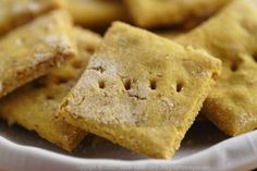 Chickpea Crackers and more of the best garbanzo bean flour recipes on MyNaturalFamily.com #garbanzo #recipe