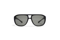 In the navigator sunglasses model LEW state-of-the-art design is coupled with a futuristic material. https://mykita.com/en/mylon/sun-lew/lew-md1-pitch-black-grey-polarized-cat3