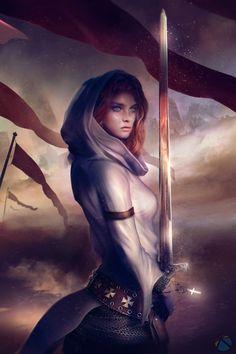 "inspirationofelves: "" Knight Templar Alexandria - Zenion Games Inc. by Eddy-Shinjuku """