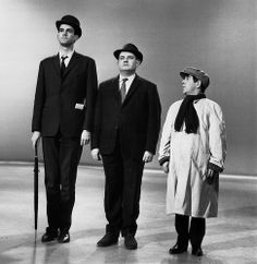 Fellow comedians John Cleese, Ronnie Barker and Ronnie Corbett in the class sketch, which was first broadcast on The Frost Report in 1966 Social Class, Social Status, Ronnie Corbett, The Two Ronnies, Ronnie Barker, 1960s Britain, Cultural Capital, British Comedy, English Comedy