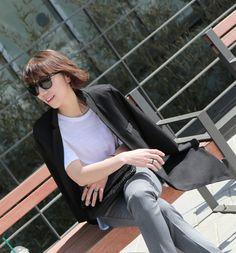 Black jacket(검정자켓) / Dailylook(데일리룩) / Dailycloset(데일리클로젯) / http://dailycloset.co.kr